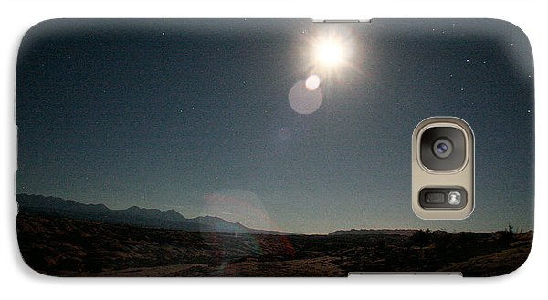 Galaxy Case featuring the photograph Moonrise Over Arches by Jon Emery