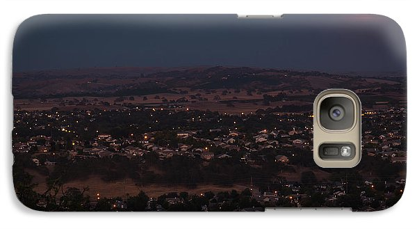 Moonrise Over Paso Galaxy S7 Case