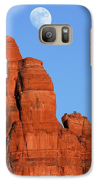 Galaxy Case featuring the photograph Moonrise by Tom Kelly
