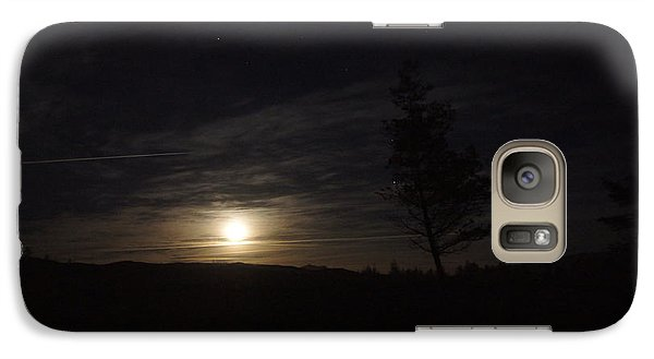 Galaxy Case featuring the photograph Moonscape by Angi Parks