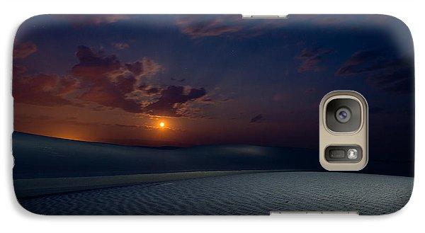 Galaxy Case featuring the photograph Moonshine by Allen Biedrzycki