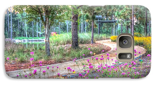 Galaxy Case featuring the photograph Moore Garden Stroll by Patricia Schaefer