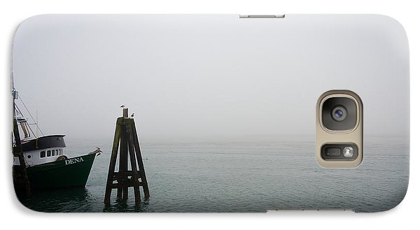 Galaxy Case featuring the photograph Moored by CML Brown