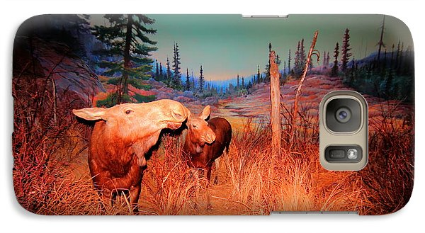 Galaxy Case featuring the photograph Moose ..algonkian by Larry Trupp