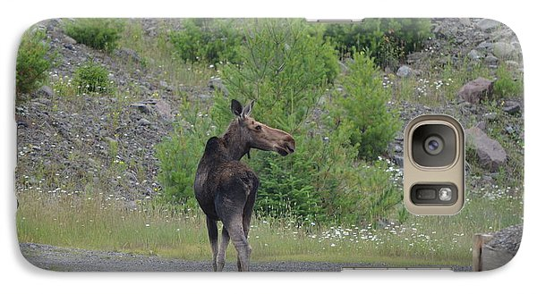 Galaxy Case featuring the photograph Moose by James Petersen
