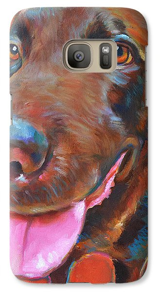 Galaxy Case featuring the painting Moose by Robert Phelps