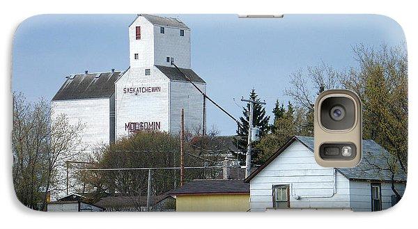 Galaxy Case featuring the photograph Moosomin - Saskatchewan - Canada by Phil Banks