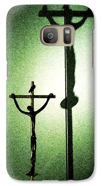 Galaxy Case featuring the photograph More Than A Shadow by Zinvolle Art