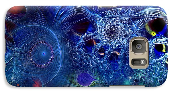 Galaxy Case featuring the digital art More Things In Heaven And Earth by Casey Kotas