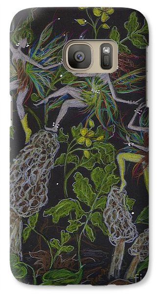 Galaxy Case featuring the drawing Morels by Dawn Fairies