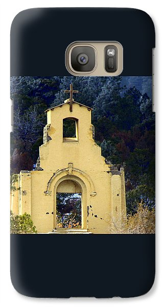 Galaxy Case featuring the photograph Mountain Mission Church by Barbara Chichester