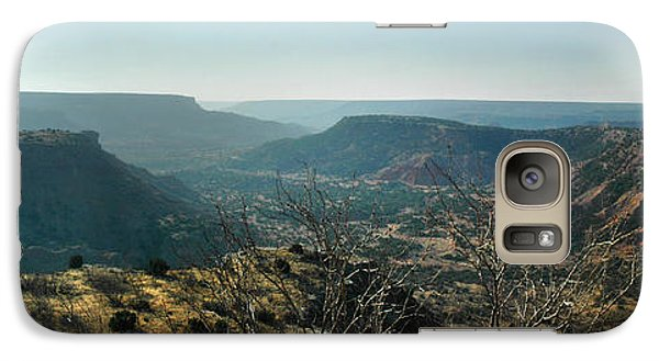 Galaxy Case featuring the photograph Morning At Palo Duro by Rod Seel