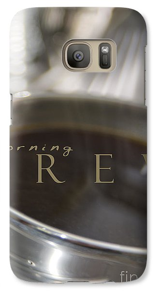 Galaxy Case featuring the photograph Morning Brew by Vicki Ferrari
