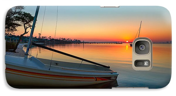 Galaxy Case featuring the photograph Morning Calm by Tim Stanley