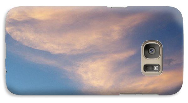 Galaxy Case featuring the photograph Morning Clouds by Ron Roberts