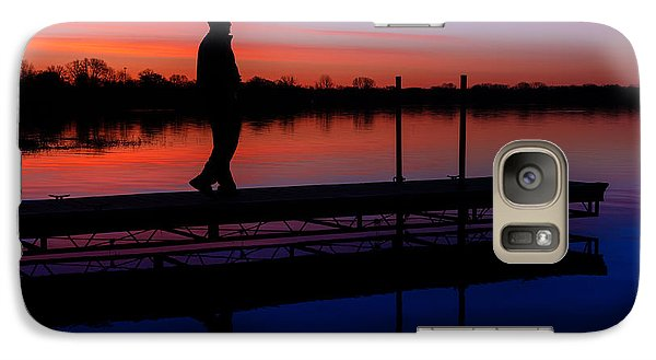 Galaxy Case featuring the photograph Morning Color Forest Lake Mn by RC Pics