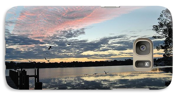 Galaxy Case featuring the photograph Morning Company by Michele Kaiser