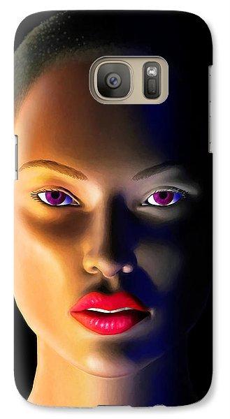 Galaxy Case featuring the digital art Morning Dew by Anthony Mwangi