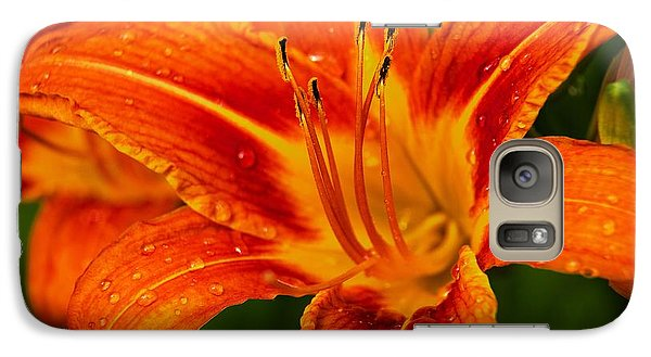 Galaxy Case featuring the photograph Morning Dew by Dave Files