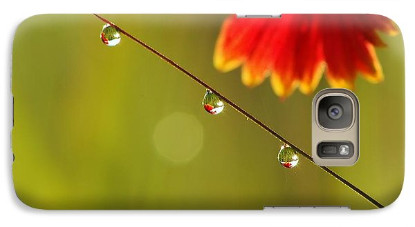 Galaxy Case featuring the photograph Morning Dew by Patrick Shupert