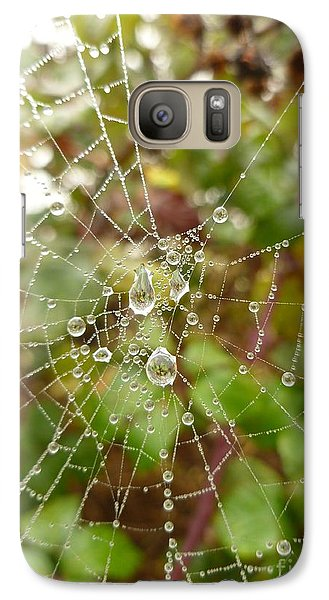 Galaxy Case featuring the photograph Morning Dew by Vicki Spindler
