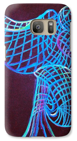 Galaxy Case featuring the painting Morning Dove by Ayasha Loya