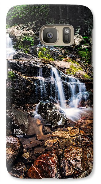 Galaxy Case featuring the photograph Morning Falls  by Joshua Minso