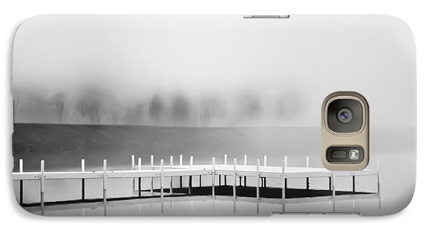 Galaxy Case featuring the photograph Morning Fog Burn-off by Greg Jackson