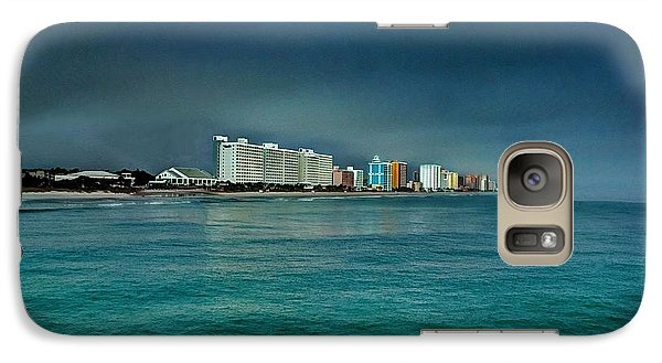 Galaxy Case featuring the photograph Morning Fog by Ed Roberts