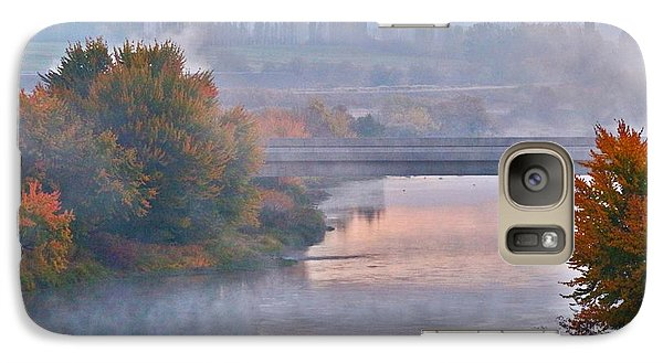 Galaxy Case featuring the photograph Morning Fog by Lynn Hopwood