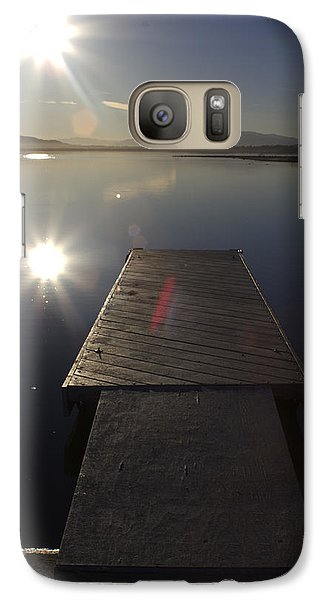 Galaxy Case featuring the photograph Morning Glare by Richard Stephen
