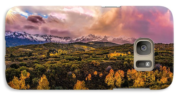 Galaxy Case featuring the photograph Morning Glory by Ken Smith