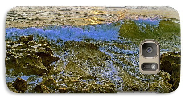 Galaxy Case featuring the photograph Morning Glory by Larry Nieland