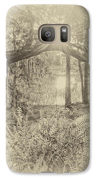 Galaxy Case featuring the photograph Morning Glory by Margaret Palmer