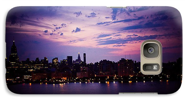 Galaxy Case featuring the photograph Morning Glory by Sara Frank