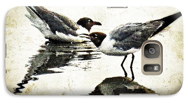 Morning Gulls - Seagull Art By Sharon Cummings Galaxy S7 Case