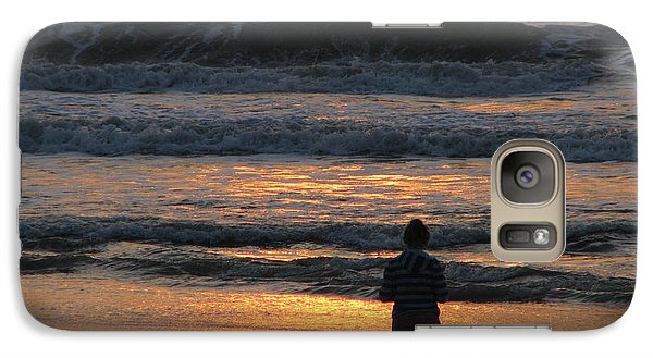 Galaxy Case featuring the photograph Morning Has Broken by Greg Patzer