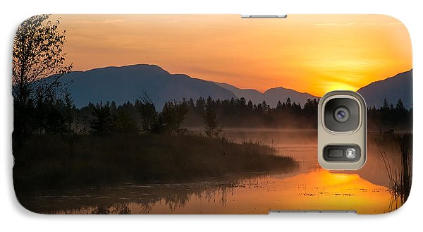 Galaxy Case featuring the photograph Morning Has Broken by Jack Bell
