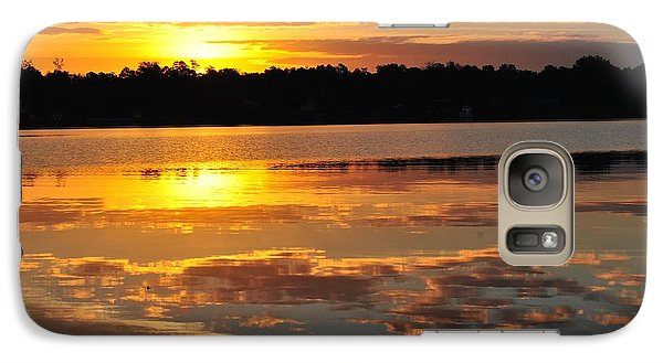 Galaxy Case featuring the photograph Morning Has Broken by Michele Kaiser