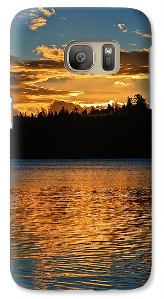 Galaxy Case featuring the photograph Morning Has Broken by Sherri Meyer