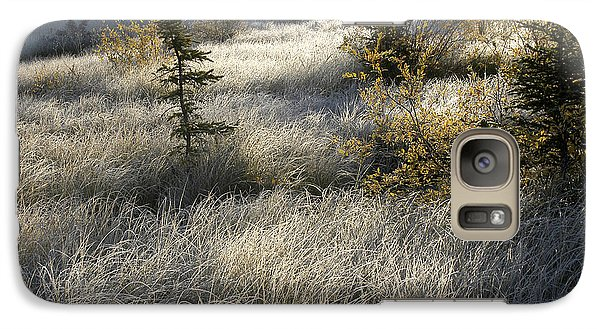 Galaxy Case featuring the photograph Morning Hoar Frost by Jessie Parker