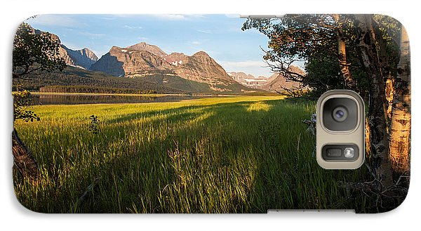 Galaxy Case featuring the photograph Morning In The Mountains by Jack Bell