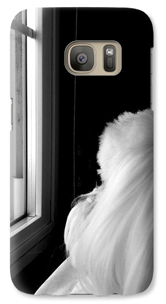 Galaxy Case featuring the photograph Morning Light by Mary Beth Landis