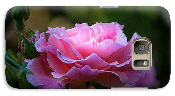 Galaxy Case featuring the photograph Morning Light by Patricia Babbitt