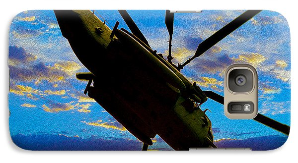 Helicopter Galaxy S7 Case - Morning Maneuvers  by Jon Neidert