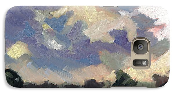 Galaxy Case featuring the painting Morning Melody by Nancy  Parsons