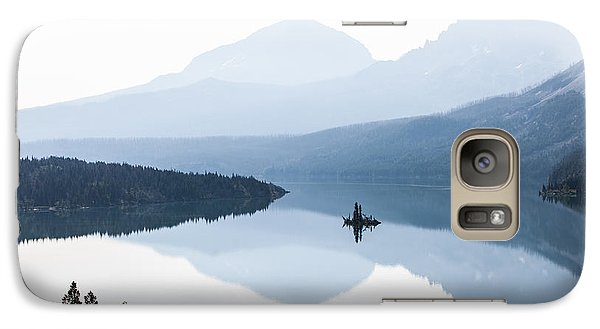 Galaxy Case featuring the photograph Morning Mist by Aaron Aldrich