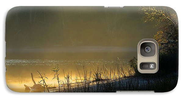 Galaxy Case featuring the photograph Morning Mist by Dianne Cowen