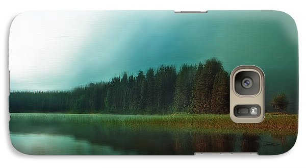 Galaxy Case featuring the photograph Morning Mist  by Thomas Born