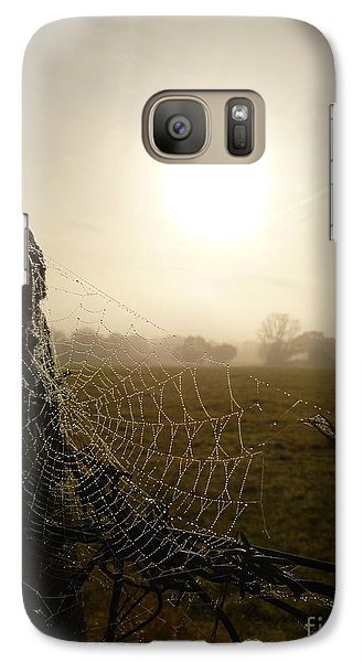 Galaxy Case featuring the photograph Morning Mist by Vicki Spindler